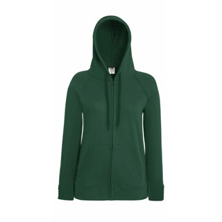 Lady-Fit licht weight Hooded Sweat Jacket