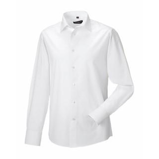 Men Longsleeve Easy Care Fitted Shirt
