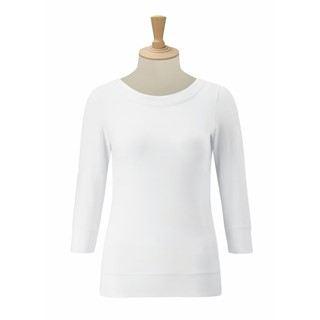 ¾ Sleeve Stretch Top