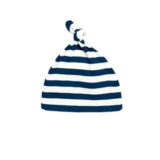 Baby Stripy One-Knot Hat