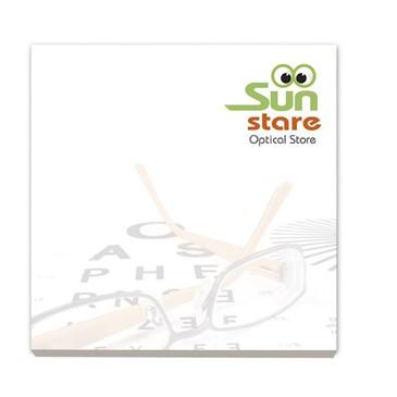 BIC® 75 mm x 75 mm notitieboekje met 25 vel zelfkl