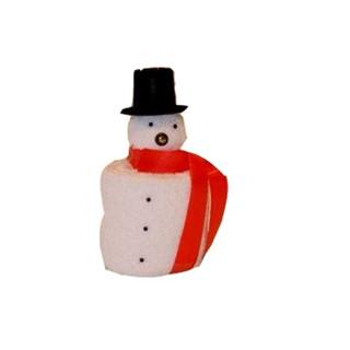 Sneeuwman klein (gdwh) wit
