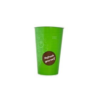 400cc Milkshake beker bekers voorbedrukt groen
