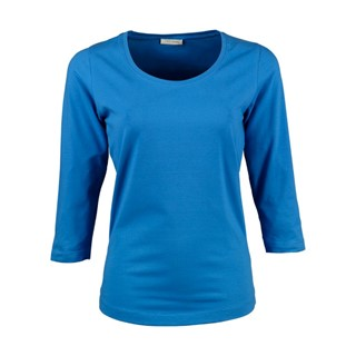 Ladies 34 Sleeve Stretch Tee
