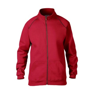 Premium katoen Adult Full Zip Jacket