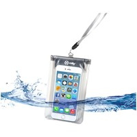 Celly Splashbag spatwaterdicht etui voor smartphon