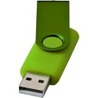 Rotate metallic USB
