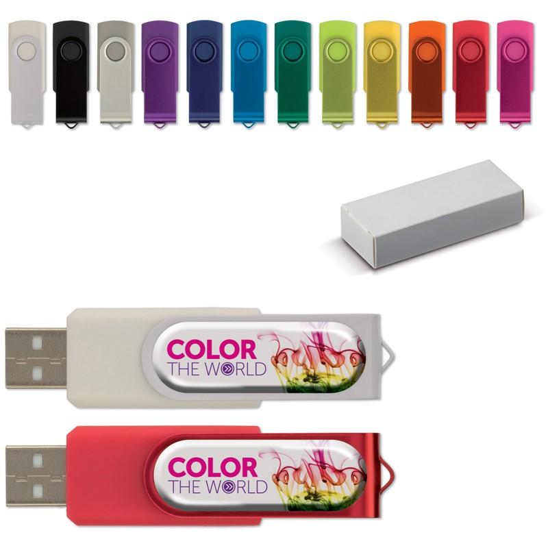 USB flash drive Twister met Doming