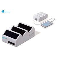 Noodbatterij met zonnecellen