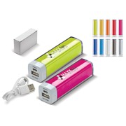 Powerbank Transparant 2200MAH