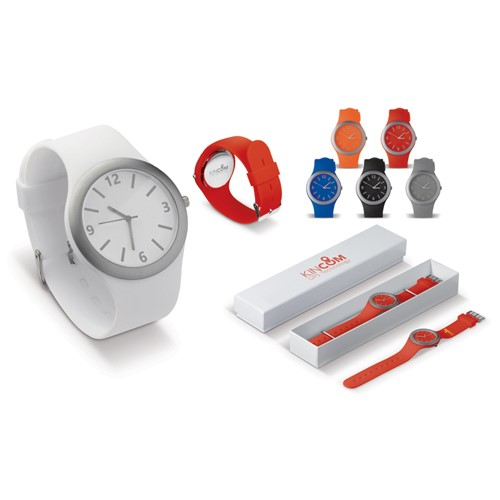 Siliconen horloge