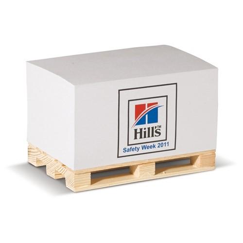 Papierblok op pallet