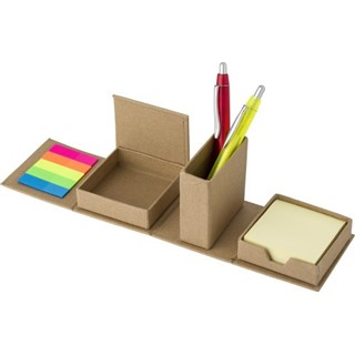 Kartonnen memo kubus met deksel