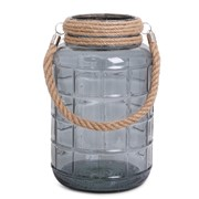 SENZA Glass Jar Large Transparant