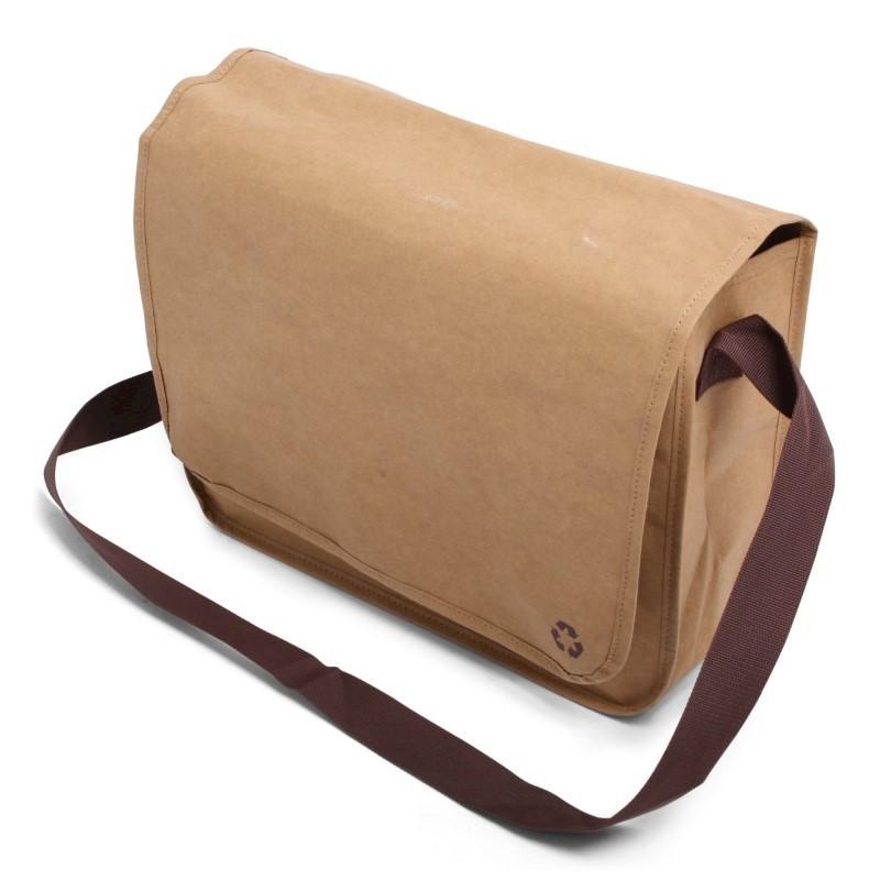 Washed Kraft Shoulderbag bruin