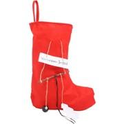 Felt Christmas Sock rood 'You've been Jingled'