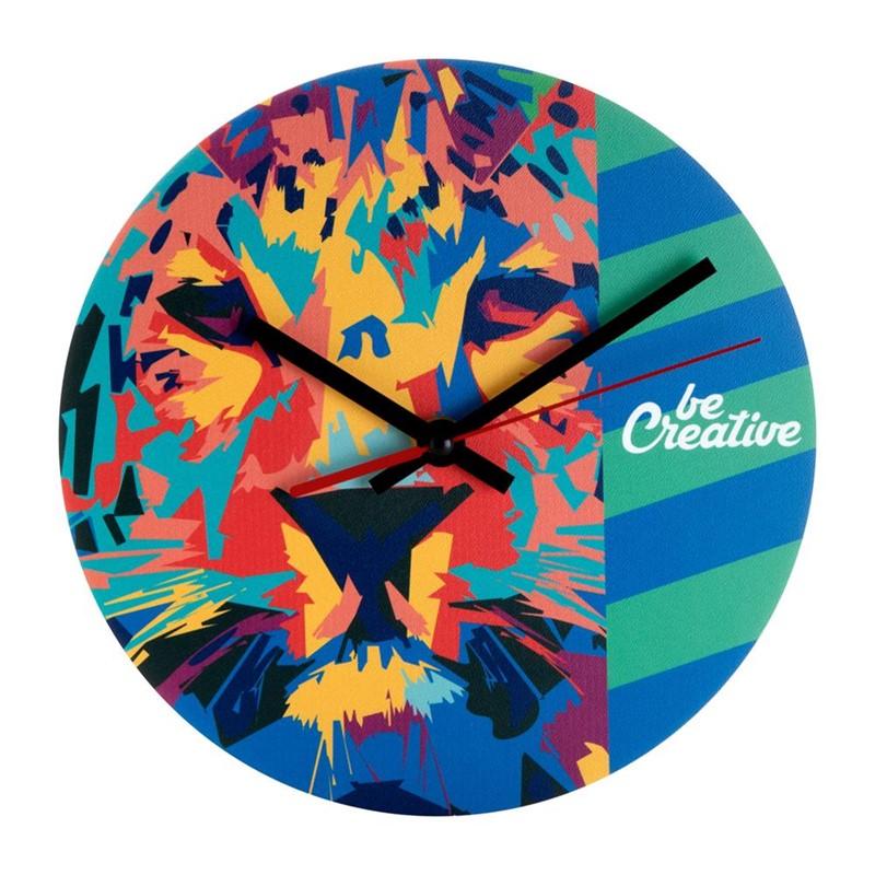Full color te drukken muur klok