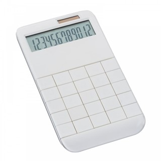 Calculator met all-over print