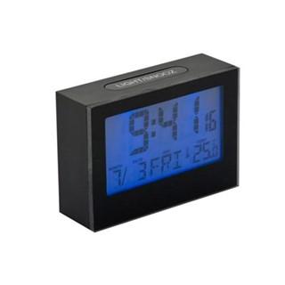 Alarmclock,Brick,LCD,zwart,2xAAA incl