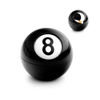 Ashtray,8-ball,melamine