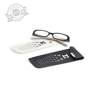 Glassescase,EyeTest,whitezwart,displayx20