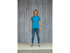 L&S Polo Flatlock SS for her